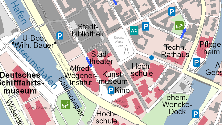 city plan cutout