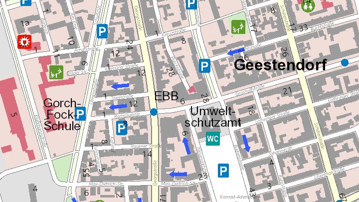 Prostituierte aus Bremerhaven, Stadtgemeinde