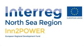 Logo Inn2Power, Interreg Nordsee