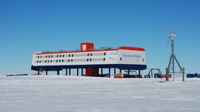 Die Neumayer-Station in der Antarktis