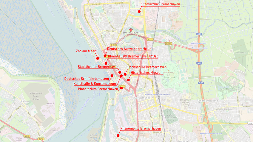 Unsere Lernorte – Bremerhaven.de