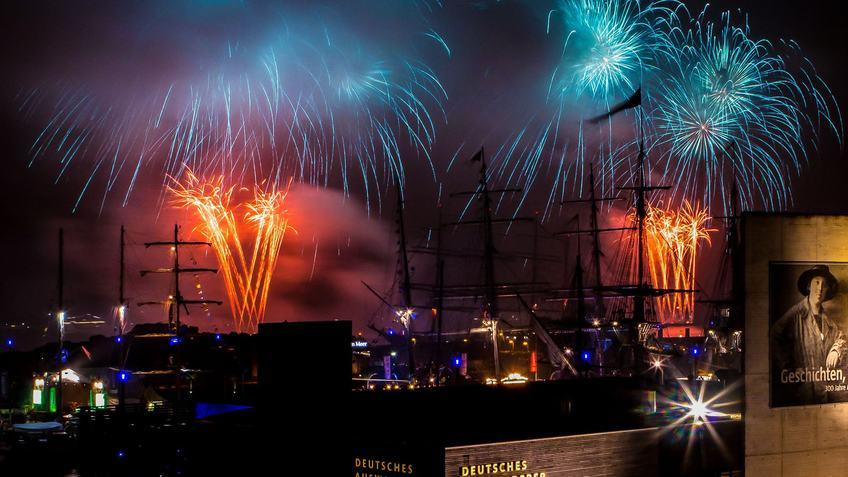 Für Silvester gelten andere Regeln als beim Sail Feuerwerk 2015