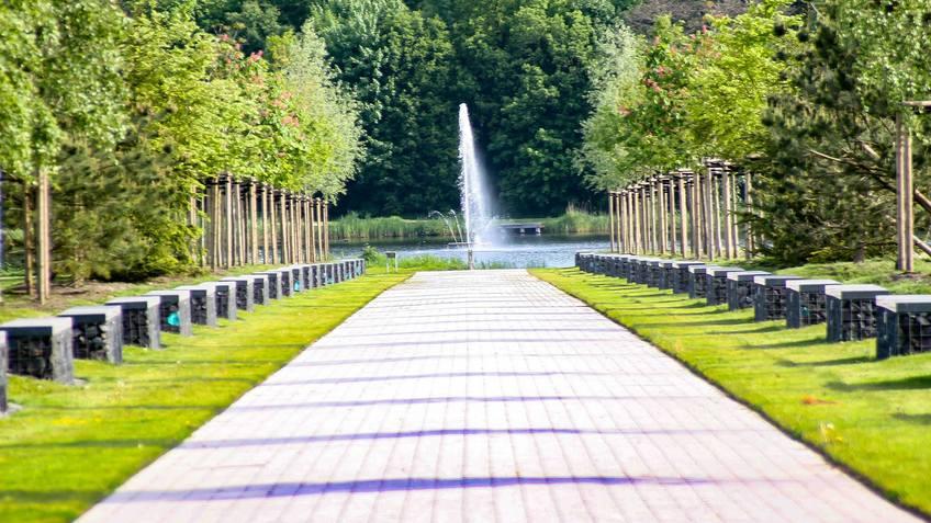Am 22. September soll es im Park ein theatrales Lichterspektakel geben