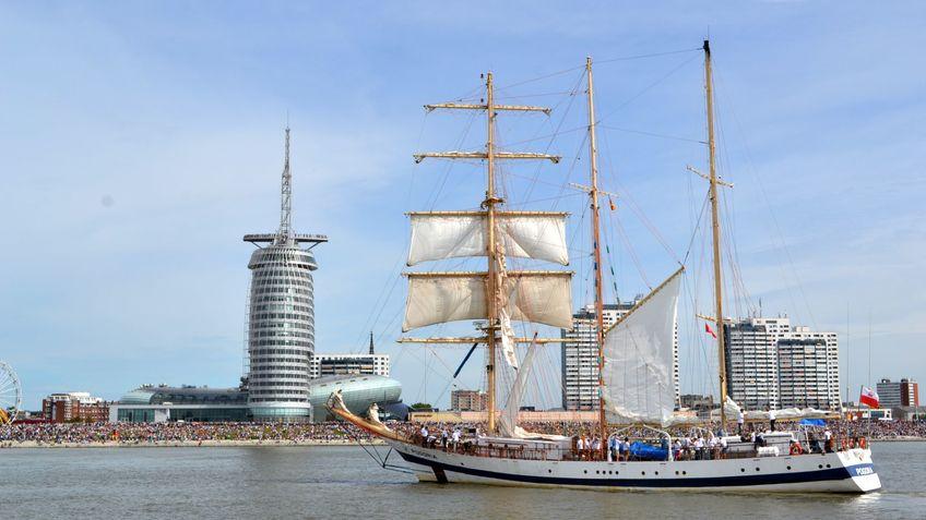 Segelschiff Pogoria