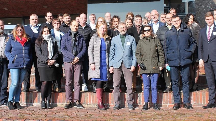 36 Projektpartner aus sieben europäischen Ländern