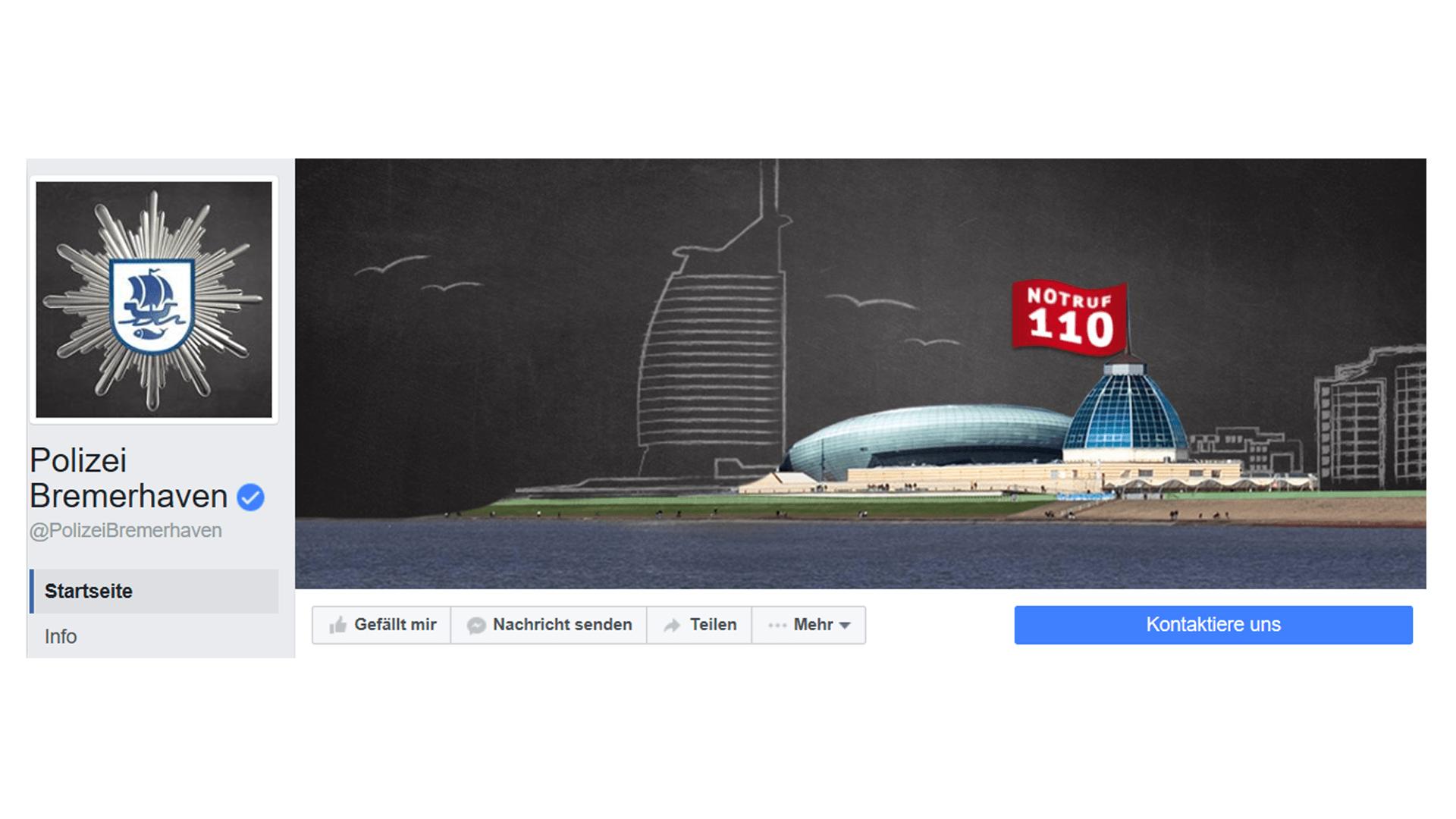 Polizei Bremerhaven Facebook