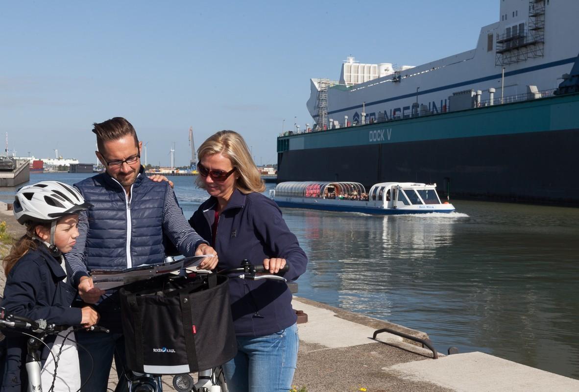 Fish Ship Route Bremerhavende