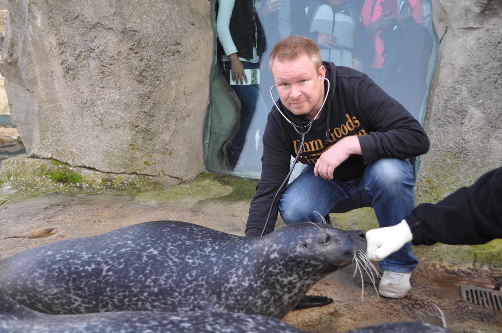 Endlich Da Bastian Lange Der Neue Im Zoo Am Meer Bremerhaven De