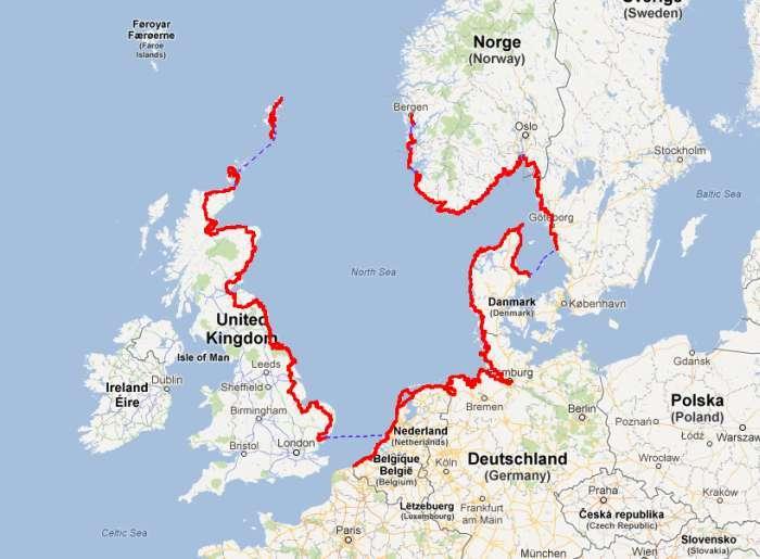 North Sea Coast Cycle Route Bremerhaven De