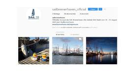 Screenshot Instagramm Sail 2020