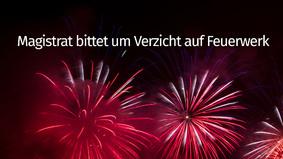 Bitte Kein Feuerwerk