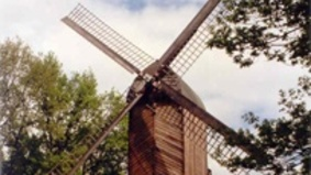 A mill in the green.