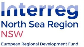 Logo: Interreg VB North Sea Wrecks Projekt