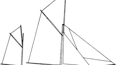 Drawing of a ship.