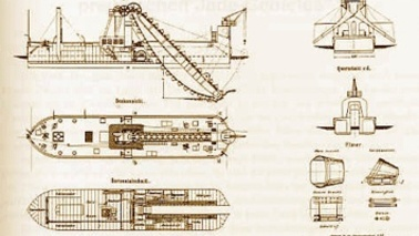 Drawings of vehicles.